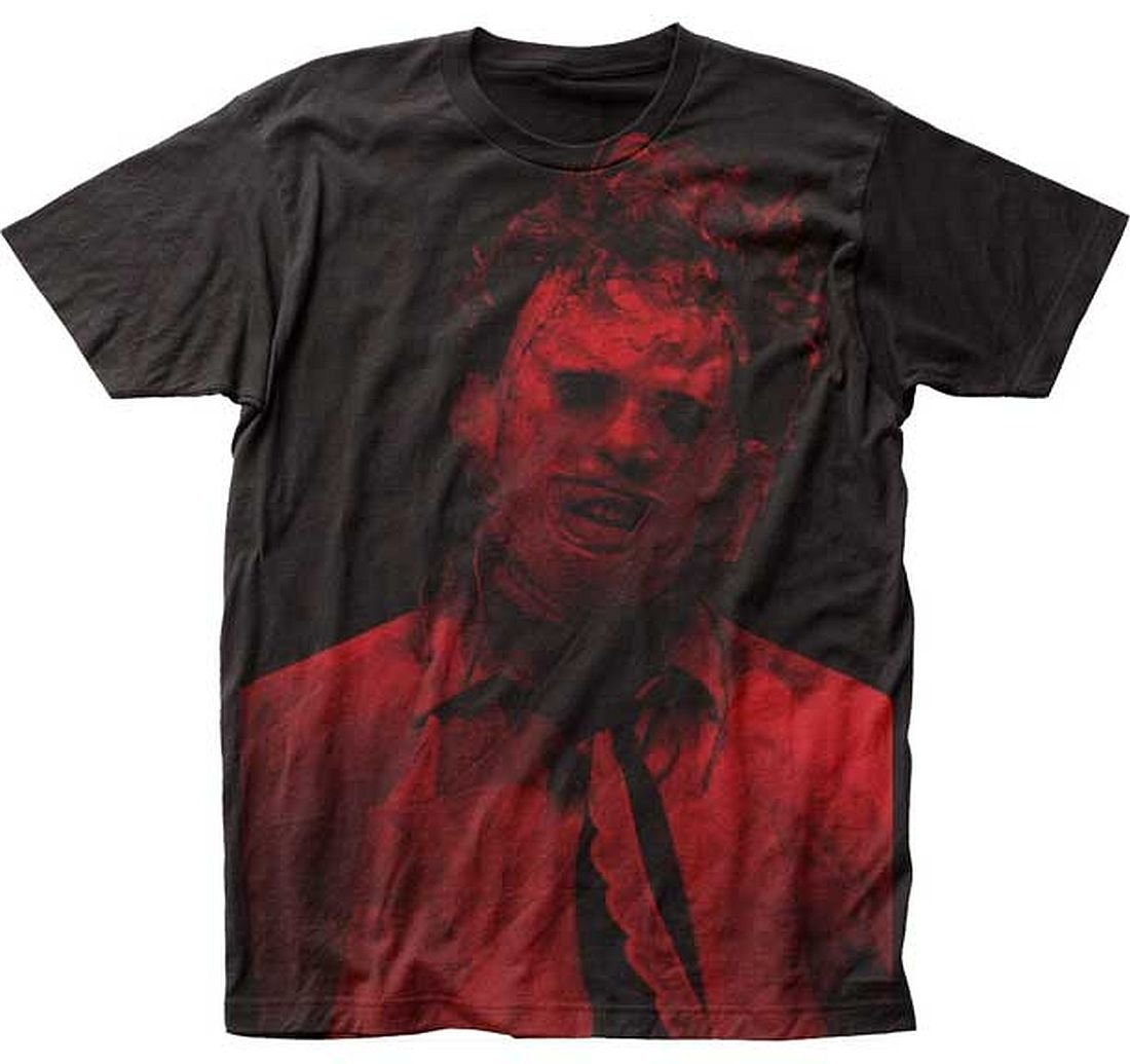 Texas Chainsaw Massacre Leatherface big print subway tee (XL)