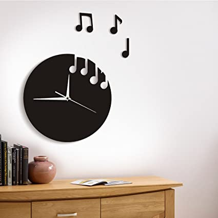 Amazon.com: Floating Music Notes Wall Art Musical Notes Flew From ...