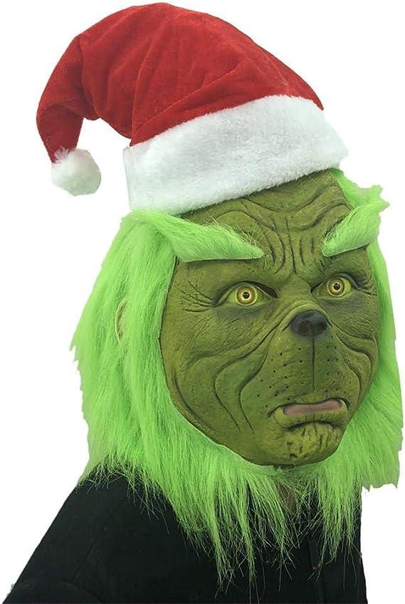 Blentude Disfraz de Monstruo, máscara de Terror de Navidad ...