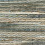 Kenxb|#Kenneth James 2693-30270 Jissai Mariner Blue Grasscloth Wallpaper,