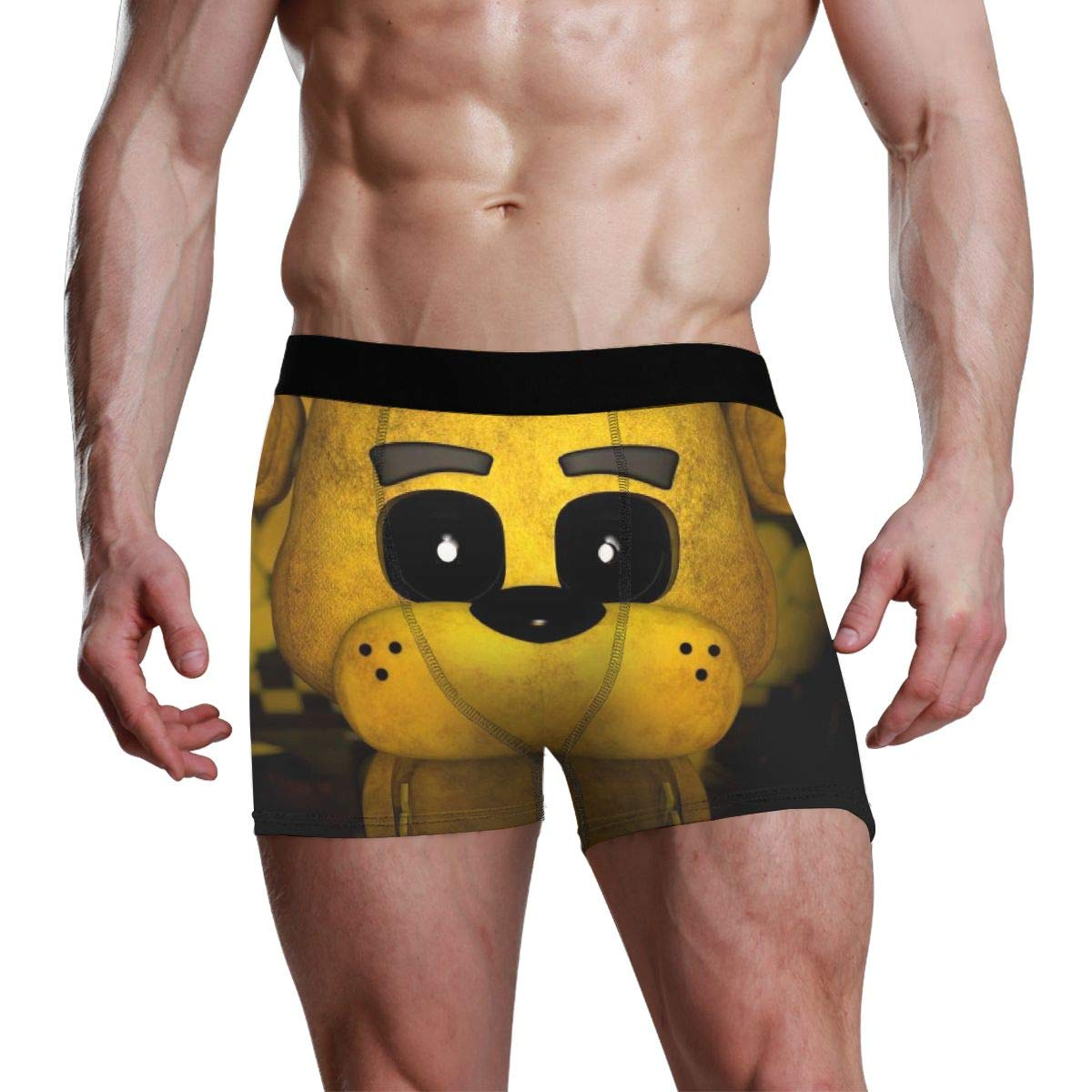 LixuA Mens Five Nights at Freedys Cotton Underwear Stretch Trunks Boxer Briefs