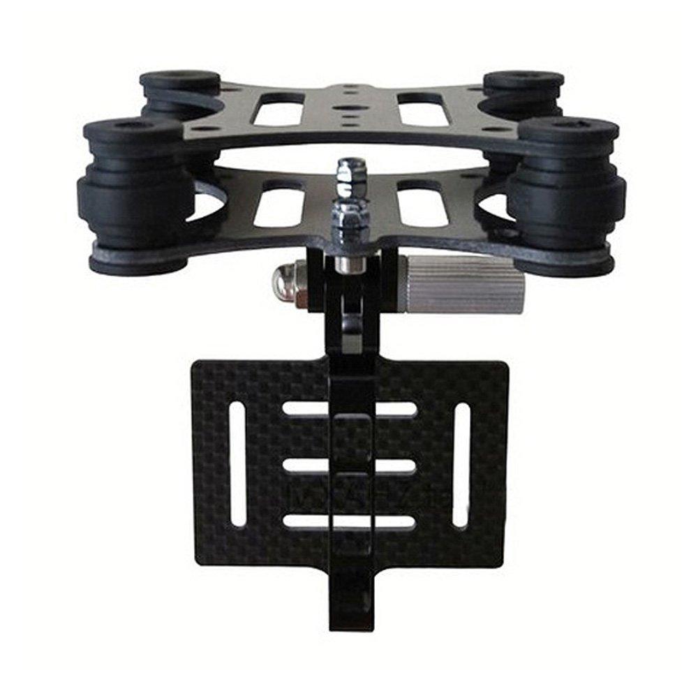 GoolRC Gimbal FPV Camera Mounts with Anti Vibration Plate for DJI Phantom Walkera Qr X350 Gopro Hero 3 3+ 4 CF Carbon Fiber
