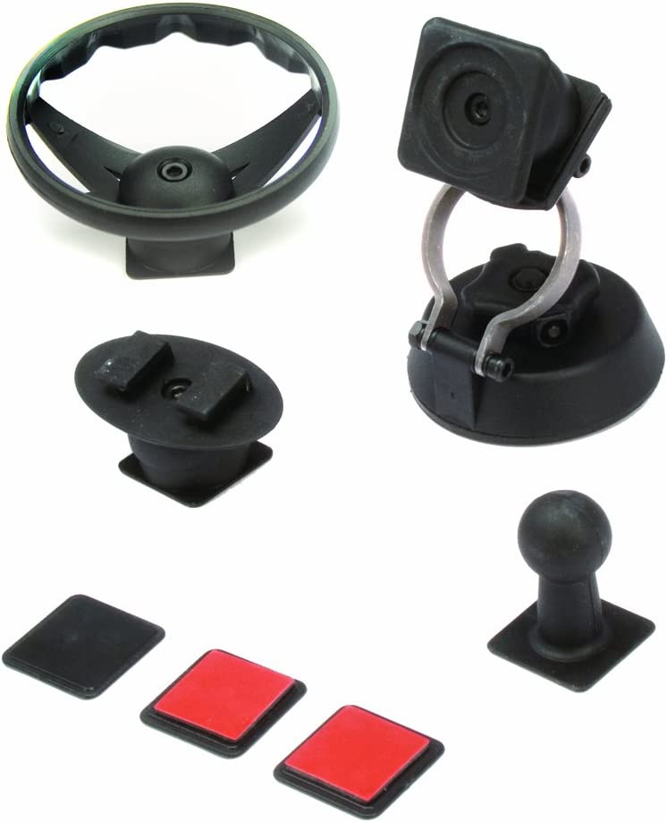 ISSH41 AAMP of America iSimple StrongHold Dashboard or Windshield Mounting KIit for TOMTOMGarminor Magellan GPS Models