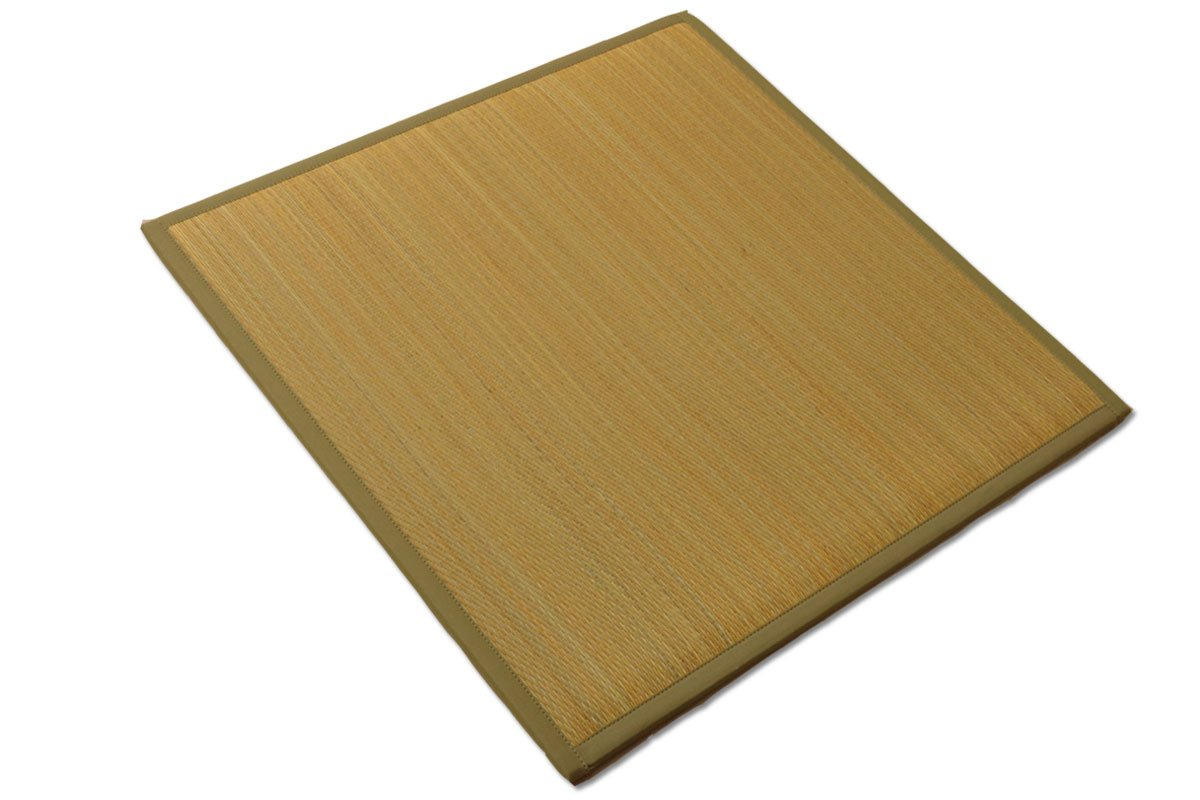国産い草 置き畳「ふっくら畳 リーブス 12枚セット」約82×82cmベージュ(#8319309x12) 正方形 ユニット畳 12枚セット ベージュ B07FFSG9Q8