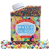 Toys : Water Beads Rainbow Mix Growing Gel Balls Jelly Beads for Kids Tactile Sensory Toys, Vase Filler, Wedding Centerpiece, Home Decoration, Plants.