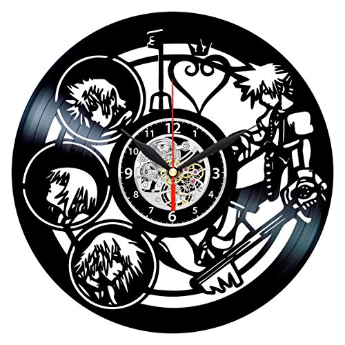 Queen Clocks Kingdom Hearts Clock - Vinyl Record Wall Decor Ideas - Best Gifts for Women
