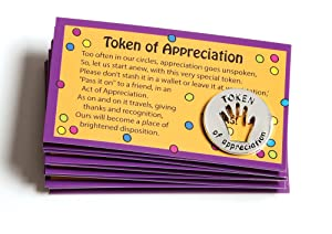 Tokens of Appreciation and Cards (Set of 10)