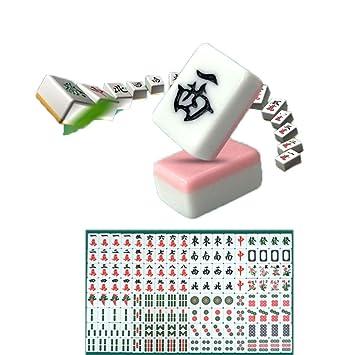 Lyy daily necessities Mahjong Chino 0.9 Clásico Marfil Imitación ...