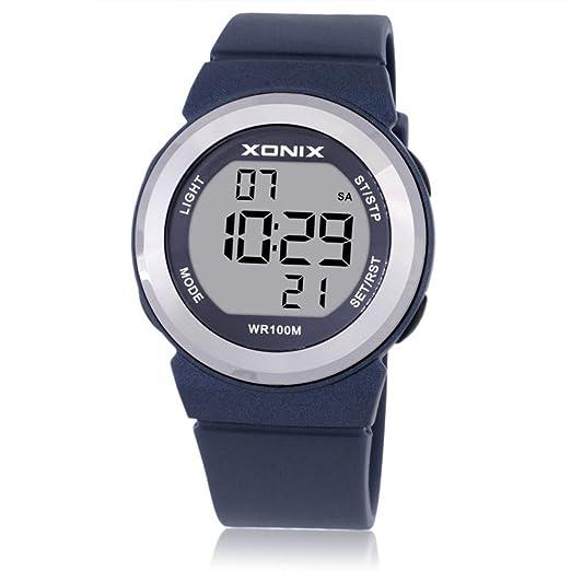 Relojes de moda de chicas lindas/ simple chicas ver peelings/Relojes digitales impermeables infantiles-H: Amazon.es: Relojes