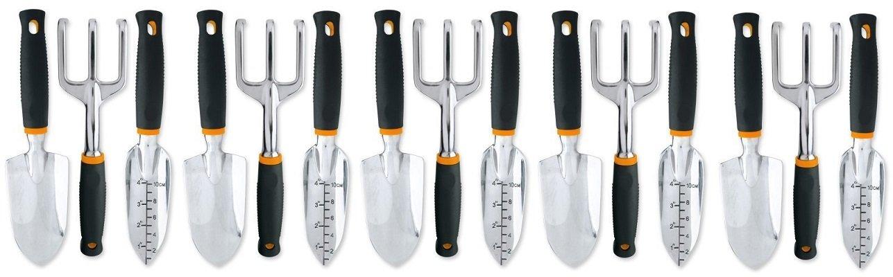 Fiskars 3 Piece Softouch Garden Tool Set (7067) (5-Pack)