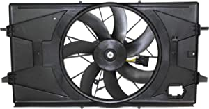 Radiator Fan Assembly for ION 03-07 2.2L/2.4L Sedan/Coupe