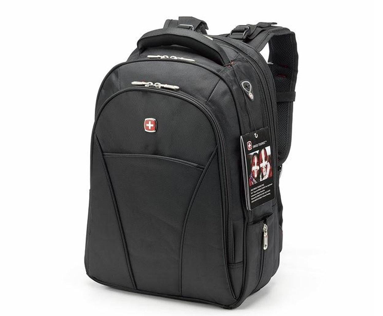 SWISS Travel Business Laptop Rucksack 15,6 Notebook Gesch/äfts Tasche Reisetasche