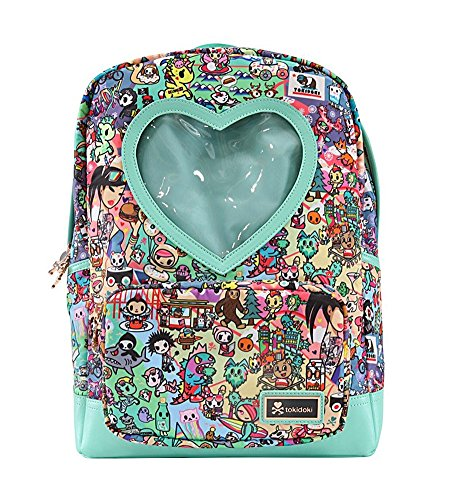 Tokidoki California Dreamin' Heart Window Backpack