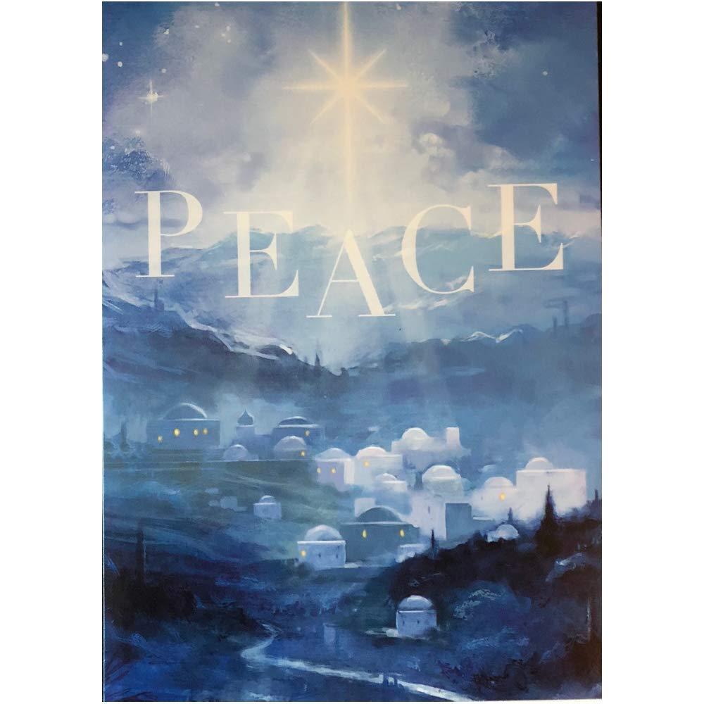 Beautiful Religious Christmas Cards.Amazon Com Inspirational Religious Christmas Cards Peace