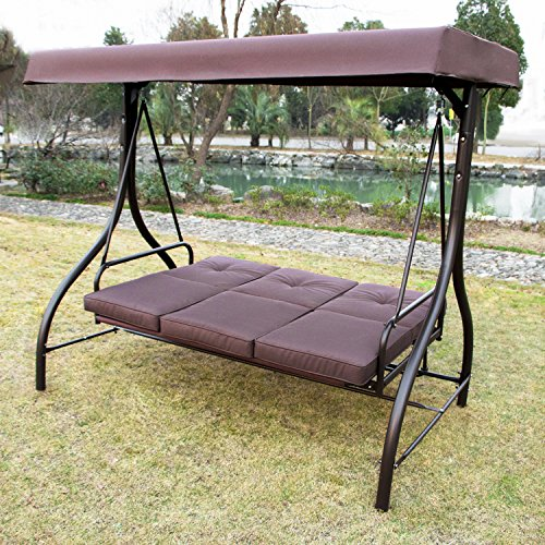 Limites Sales Ainfox Outdoor Garden Yard Patio Streamer Relaxer Balcony Canopy Swing Glider Hammock Furniture Benches (Type 3)