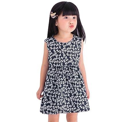 feiXIANG Verano Nuevo Vestido de bebé Imprimir Ropa Camisa bebé niño niña Vestido de impresión Arco