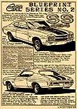 1970 SS-454 Chevelle Art Print