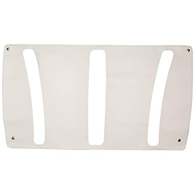 Belmor WF-2101-1 White Winterfront Truck Grille Cover for 2004-2010 Freightliner Century Class S/T: Automotive