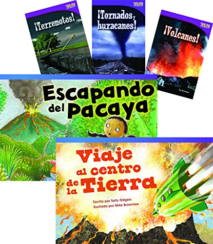 Desastres naturales (Natural Disasters) 6-Book Set (Language Arts) (Spanish Edition)