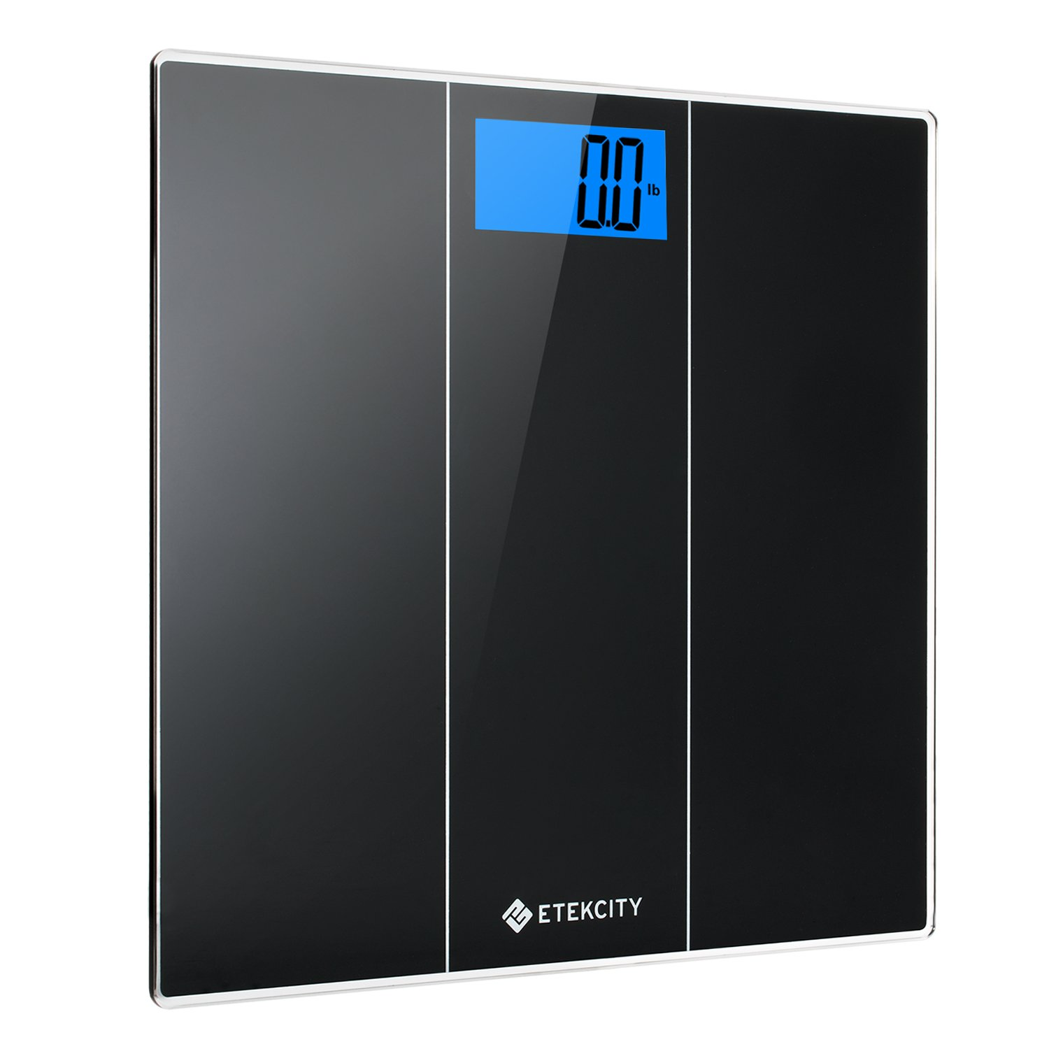 Etekcity Digital Body Weight Bathroom Scale with Body Measuring Tape and Large Easy Read Backlit LCD Display, 400 Pounds