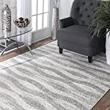 Nuloom 7'6 x 9'6 Tristan Rug in Gray Review