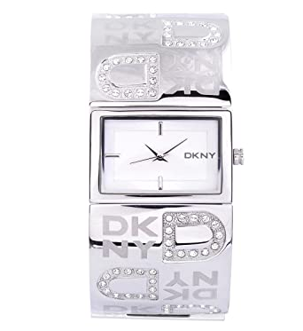 Armbanduhr damen silber  DKNY Damen-Armbanduhr Quarz silber NY4738: Dkny: Amazon.de: Uhren