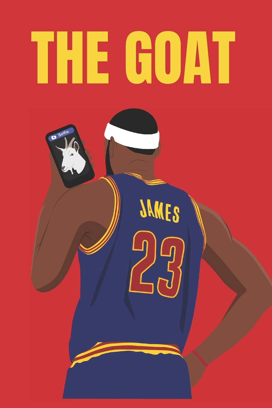 new style 749d1 f7773 Amazon.com: The Goat: blank lined journal; lebron james ...
