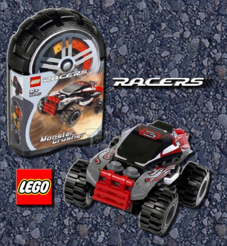 LEGO Racers: Monster Crusher (8642) (Lego Racers Track)