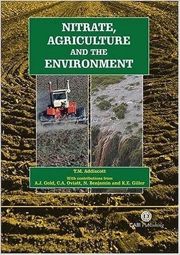 Ebooks téléchargement gratuit deutsch epub Nitrate, Agriculture and the Environment by T Addiscott (2005-07-11) PDF RTF DJVU