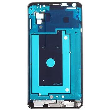 CARCASA TRASERA MARCO PLATA CHASIS SAMSUNG GALAXY NOTE 3 N9005 SM-N9005