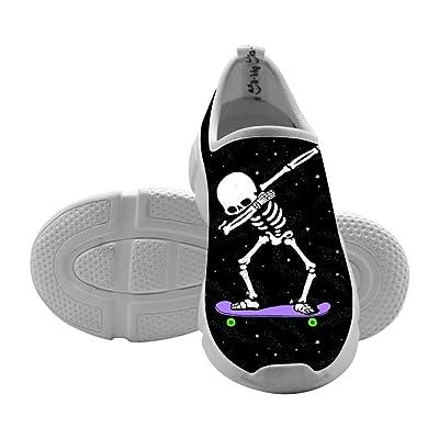 DAB Dabbing Skeleton Skateboard Toddler Girls Fashion Leisure Breathable Shoes