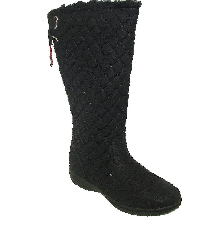 Brooks-200 Black Tall Snow Boots