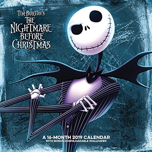 The Nightmare Before Christmas Wall Calendar (2019)