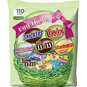MARS Chocolate & More Easter Spring Candy Variety Mix 35.8-Ounce 110-Piece Bag