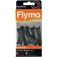 Flymo FLY014 Plastic grasmaaier Blades - (Pack van 6)
