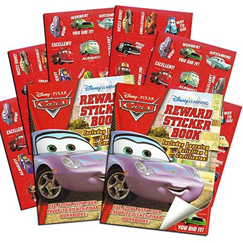 Disney Pixar CARS Reward Stickers - Over 200 Stickers!