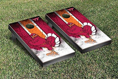 Virginia Tech Hokies Regulation Cornhole Game Set Vintage Version by Victory Tailgate