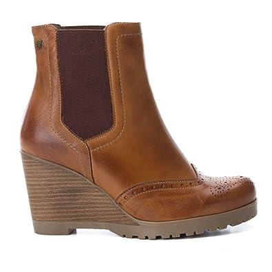 Carmela 65823 Noir - Chaussures Bottine Femme