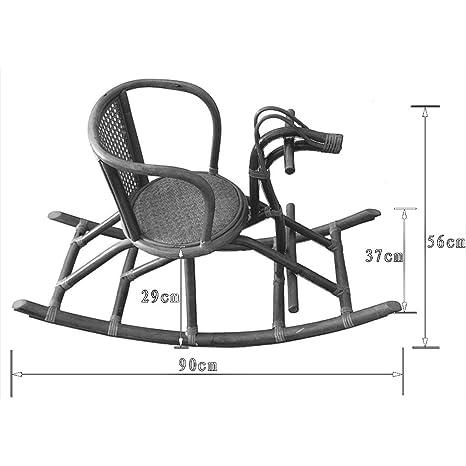 Amazon.com: HYYTY-Y Rattan Handmade Rocking Chair ...