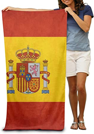 España Bandera arte toalla de playa: Amazon.es: Hogar