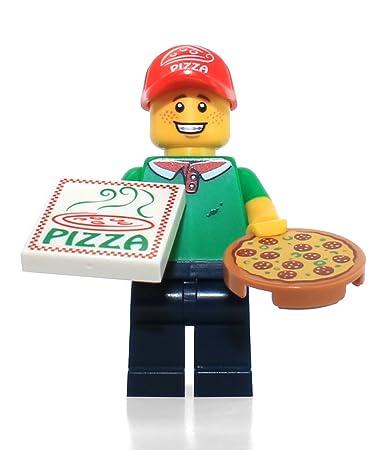 Amazon.com: LEGO Series 12 Collectible Minifigure 71007 - Pizza ...