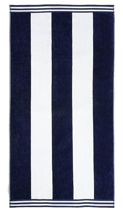 "7ccd90d1e9 Superior Luxurious 100% Cotton Beach Towels, Oversized 34"" x 64"",  Soft"