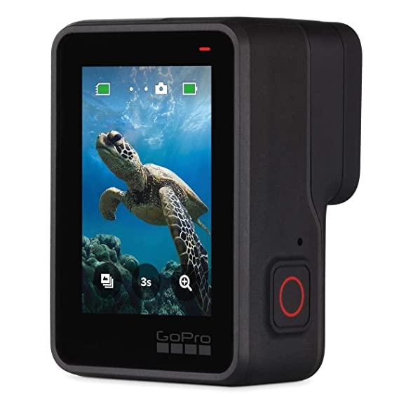 GoPro HERO7 Black - Waterproof Digital Action Camera with Touch Screen 4K HD Video 12MP Photos Live Streaming, Bundle With 2 Extra GoPro Batteries + ...