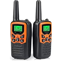 $24 » Walkie Talkies Long Range for Adults Two-Way Radios Up to 5 Miles in Open Fields 22 Channels…