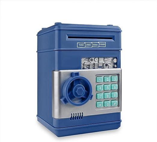 Wenhu Piggy Bank Moneda Contador Electrónico Caja de Dinero ...