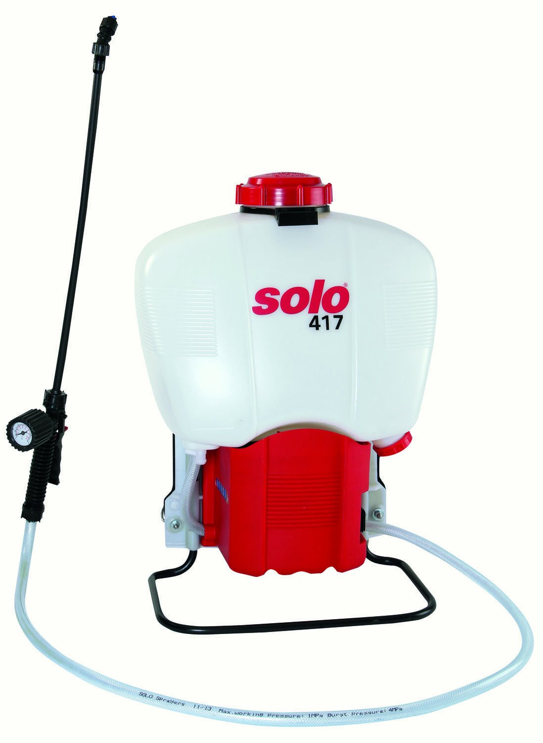 Solo 417-18L 4.5-Gallon Battery Powered Backpack Sprayer, Extended Spraying Range