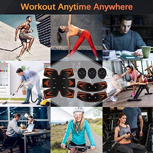 Bud K Home Gym Belt,Fitness Tráining Gear Workout Exercise Equipment for Men & Women 7