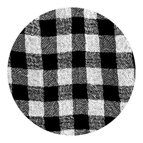 Peekaboo-Chic Cottage Check Half Slip Skirt Extender (Black, l/XL) by Peekaboo-Chic (Image #1)
