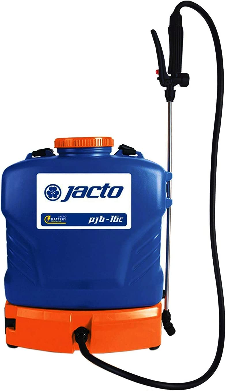 Jacto PJB-16c 4 Gallon, Lightweight Backpack Sprayer, Every Day Lawn and Garden Use - Color, Blue