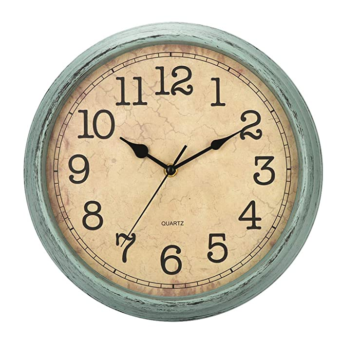 The Best 10 Inch Battery Nature Wall Clock